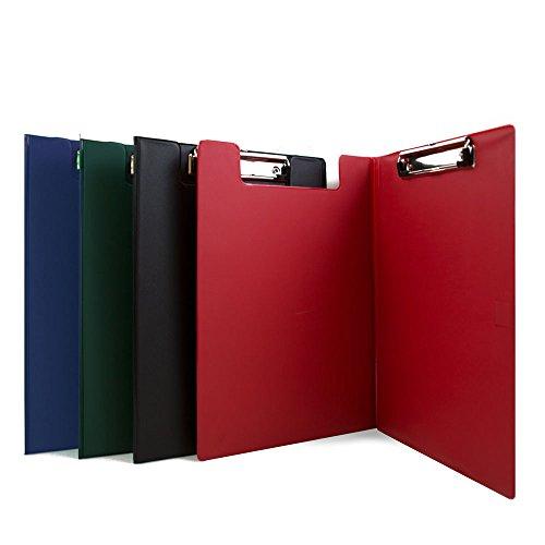 BAZIC A4 Size PVC Clip Folder w/ Low Profile Clip Pvc Clipboard