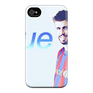 Slim Fit Tpu Protector Shock Absorbent Bumper The Player Of Barcelona Gerard Pique On Photo Session Case For Iphone 4/4s