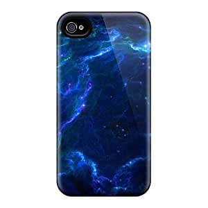 Top Quality Cases Covers For Iphone 6 Cases With Nice Wood Full Space Stars Blue Nebulae Lazarus Appearance