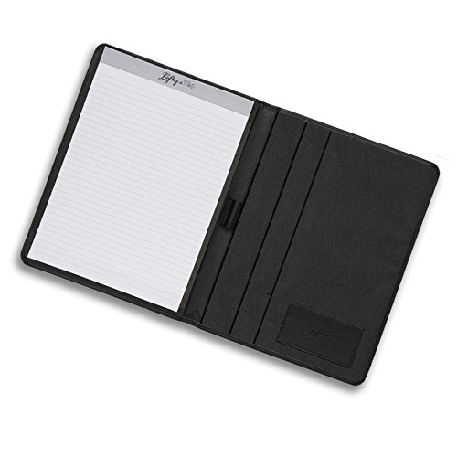 Leftys Left Handed Black Eco Leather Padfolio product image