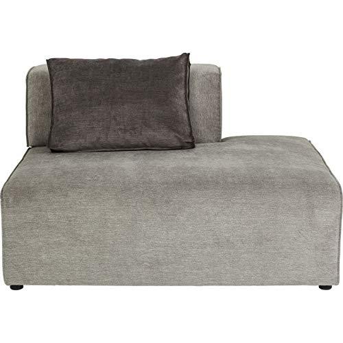 Ottomane Rechts Sofa Infinity Grau Kare Design