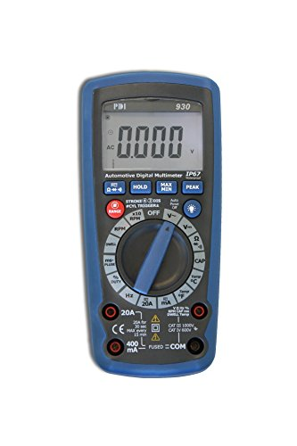 PDI DM-930 Handheld Automotive Multimeter, Blue