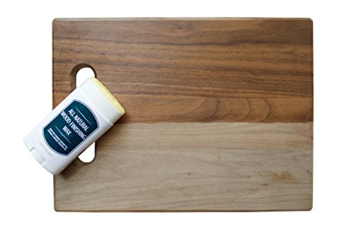All Natural Coconut Oil and Beeswax Derived Wood Seasoning and Houseware Finishing Wax (2.65 Oz Stick (Ironwood Furniture)
