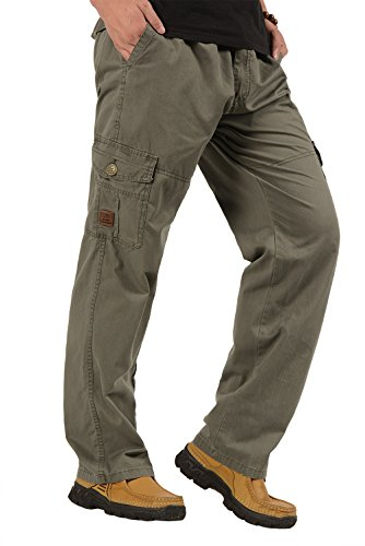 Cotton Zipper Straight Pockets - 3