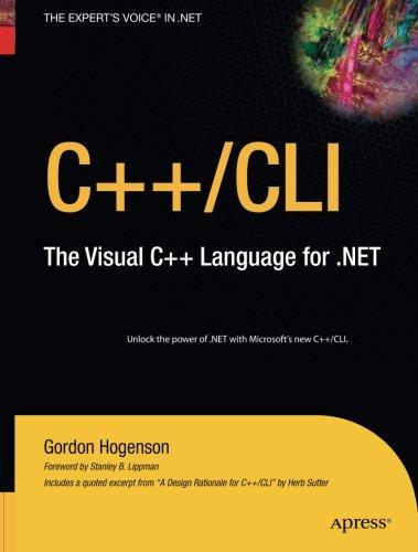 Read Online C++/CLI: The Visual C++ Language for .NET ePub fb2 ebook