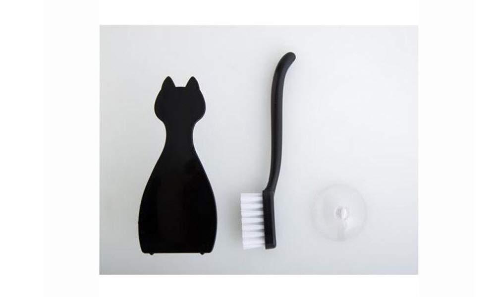 Black Cat Mini Washbasin Sink Cleaning brush