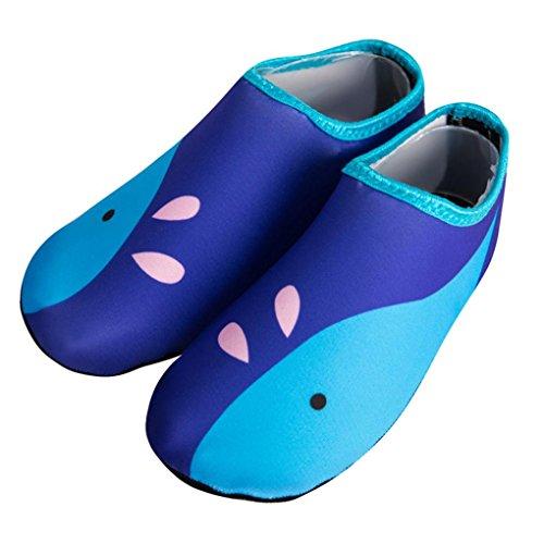 IGEMY children Swimm Diving Socks Outdoor Water Sport Scratche Non-Slip Shoes Seaside Blue FvIq5sDrA