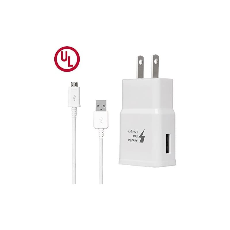 Adaptive Fast Charger Kit, Wall Charger