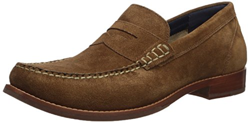 Cole Haan Mens Pizzico Grand Casual Penny Mocassino Bourbon Suede
