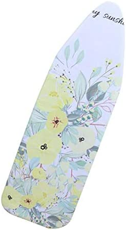 Iron Faster Spring Flower joyMerit Ironing Board Cover Pad for Ironing,20 x 55 Thick Padding Pads Resist Scorching and Staining Covers Have Elastic Edge