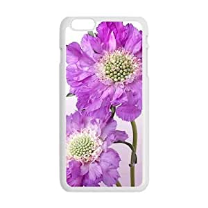 Personalized Creative Cell Phone Case For iphone 5 5s ,glam purple flowers elegant design