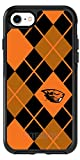 Oregon State Argyle design on Black OtterBox Symmetry Case for iPhone 8
