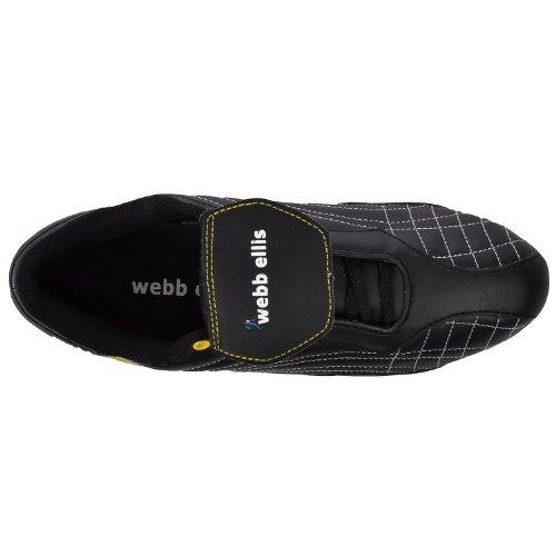 Webb Ellis Cobra VS Low Cut Mens Soft Toe Rugby Boots - Black