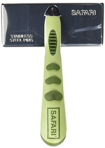 Large (2-Pack) Safari Soft Slicker Brush w  Stainless Steel Pins, Large (2-Pack)