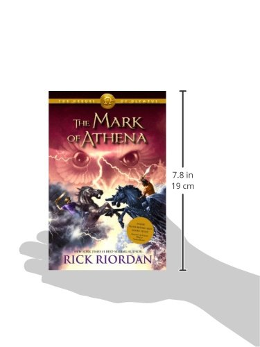 Heroes of Olympus, The Book Three The Mark of Athena (The Heroes of Olympus) Photo #2