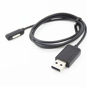 Cierre magnético Cargador cable de carga para Sony Xperia Z ...