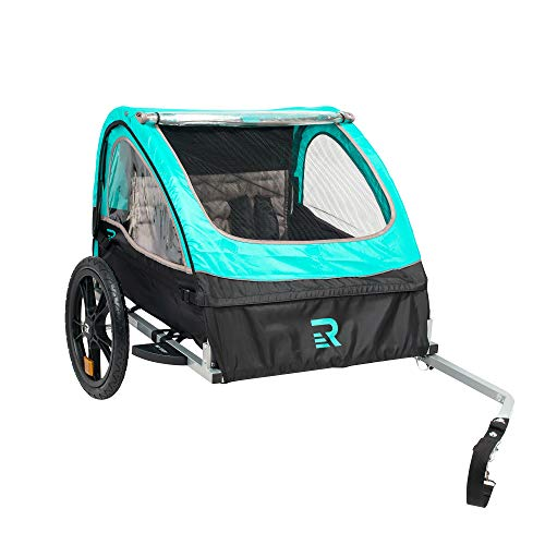 Retrospec Rover Kids Bicycle Trailer Single and Double Passenger Children