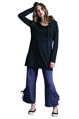 Whimsical Cowl Dress Large Market Black by Neon Buddha