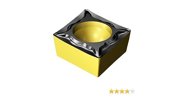 Diamond 80/° Neutral Cut CCMT 3 Carbide CoroTurn 107 Insert for Turning 4325 Grade Sandvik Coromant Ti C,N 1-UM 4325 2.5 +Al2O3+TiN Inveio Coating Technology