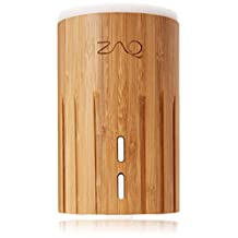ZAQ Bamboo Litemist Aromatherapy Essential Oil Diffuser, 100ml - Auto Shut Off Mode (Bamboo)