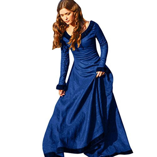 OverDose Taille Longue Bleu Dentelle Trapzes Sexy Dress Grande Femme Dos Soire Robe Ouvert Rtro SqH6ngwR