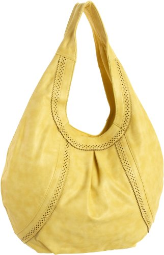 BIG BUDDHA Allie Hobo,Yellow,one size