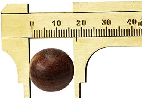 LIJIAN 携帯用ミニスカート真鍮スライド80ミリメートルゲージバーニアビーズジュエリー測定キャリパー