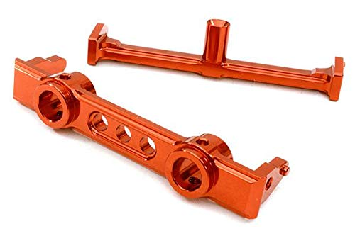 Jeep /& Dingo Integy RC Model Hop-ups OBM-1214RED 40mm Type Front Bumper Mount /& Chassis Brace for SCX-10 Honcho