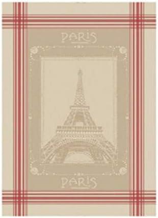 French Kitchen Dish//Tea Towel Jacquard Paris Eiffel Tower 100/% Cotton France