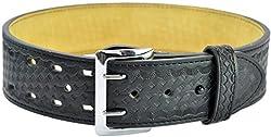 Hero's Pride 1230 Air-Tek Sam Browne Deluxe Duty Belt (26, Basket Weave)