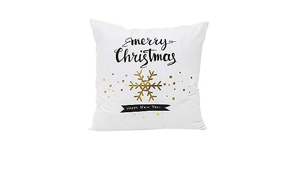 XINDEEK 2018 Merry Christmas - Fundas de cojín, diseño de ...