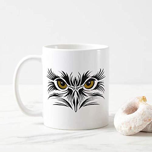 Eagle Eyes Mug Eye Staring Tattoo Bird Artist Art Wildlife