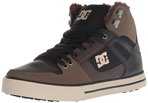 DC Shoes Mens Shoes Pure Wnt - Winter High-Top Boots - Men - US 10 - Green Olive US 10 / UK 9 / EU 43 ()