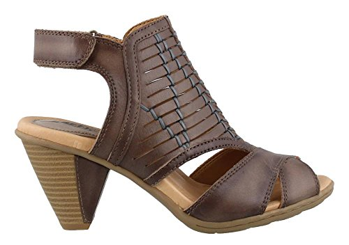 Earth Women's Libra Sandal,Grey Soft Leather,US 5.5 M