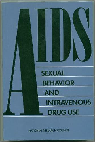 Téléchargements de manuels en ligne AIDS, Sexual Behaviour and Intravenous Drug Use 0309039487 in French PDF