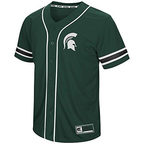 - Mens Michigan State Spartans Baseball Jersey - L