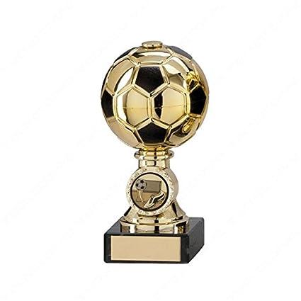 Tecnocoppe - Trofeo para el mayor goleador de fútbol, altura: 14 cm, para premios deportivos de Balón de Oro: Amazon.es: Deportes y aire libre