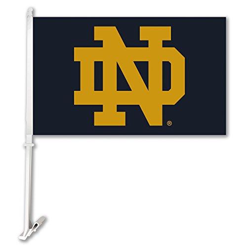 Navy Blue Car Flag - 2