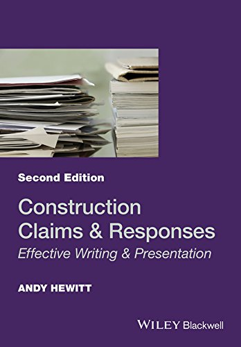 Construction Claims and Responses: Effective Writing and Presentation (Construction Contract Variations)