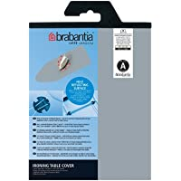 Brabantia 216800 Ironing Board Cover Metallized Cotton / Foam 2 mm Grey - Size A (43 x 12)