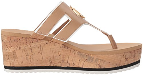 Natural Wedge Women's Sandal Hilfiger Tommy Galley OTHWq