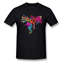 Jasmincc Men's WWE CM Punk Watercolor Logo T-shirt