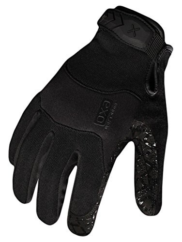 Ironclad EXOT-GBLK-23-M Women's Tactical Operator Grip Glove, Stealth Black, Medium by Ironclad