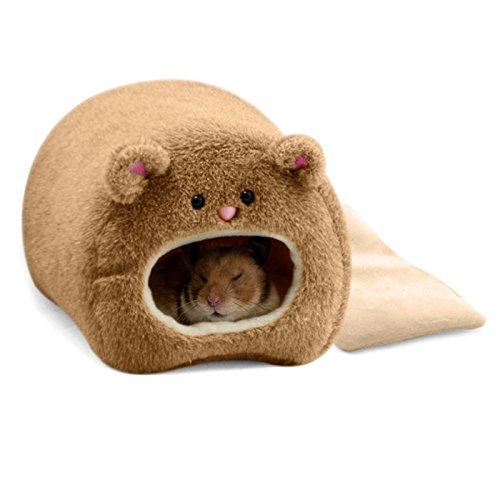 Dwarf Hamster Bedding (Alfie Pet by Petoga Couture - Jain Hanging Hut for Small Animals like Dwarf Hamster and Mouse)