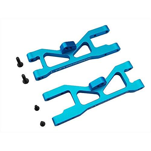 Hot Racing ECT5506 Aluminum Front Arm Set, Blue