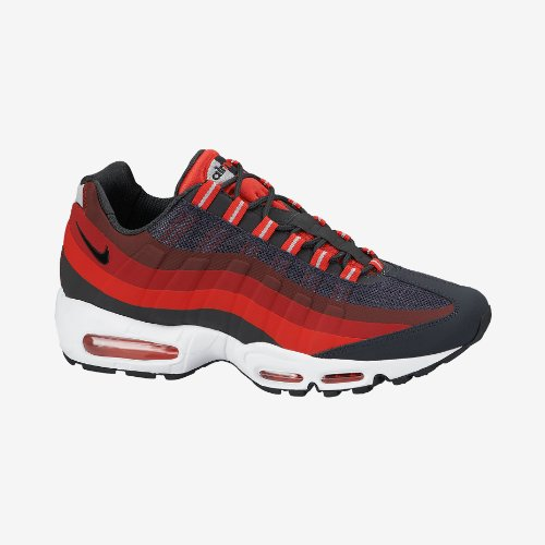 buy popular 04409 5781e NIKE Men's Air Max 95 No Sew Anthracite/Lsr Crmsn/Chllng Rd ...