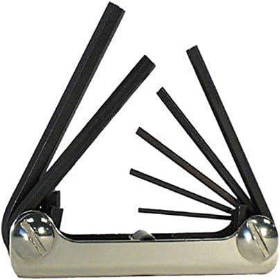 Eklind 20911 Standard 9pc Fold-Up Hex Key Set 5//64 to 1//4 3 Pack