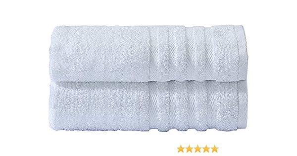 LinenZone - Juego de Toallas de baño (100% algodón Egipcio, 600 g/m², 2 Toallas de baño: Amazon.es: Hogar