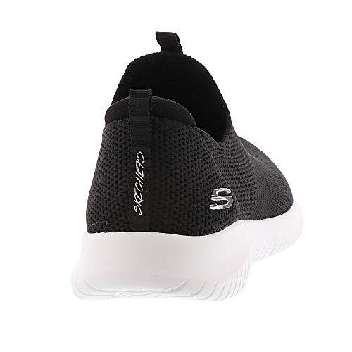 Ultra Flex Cordones first Sin Take Zapatillas Mujer Skechers Para Negro blanco d5WwqYEn