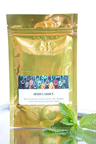 10 Varieties of All Natural Heirloom Herb Seeds – Value Package Made in Canada for your Indoor/Outdoor Garden. Basil…